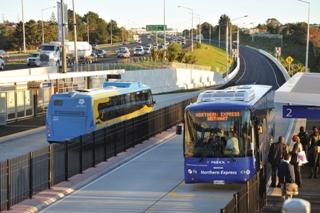 Photo of the Northern Busway